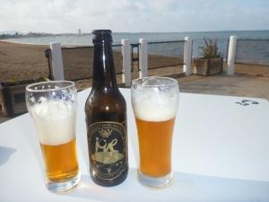 Jag vill tro att mitt iq förbättras när jag dricker Icue, det hittills bästa spanska ölet om jag gillar pale ale.